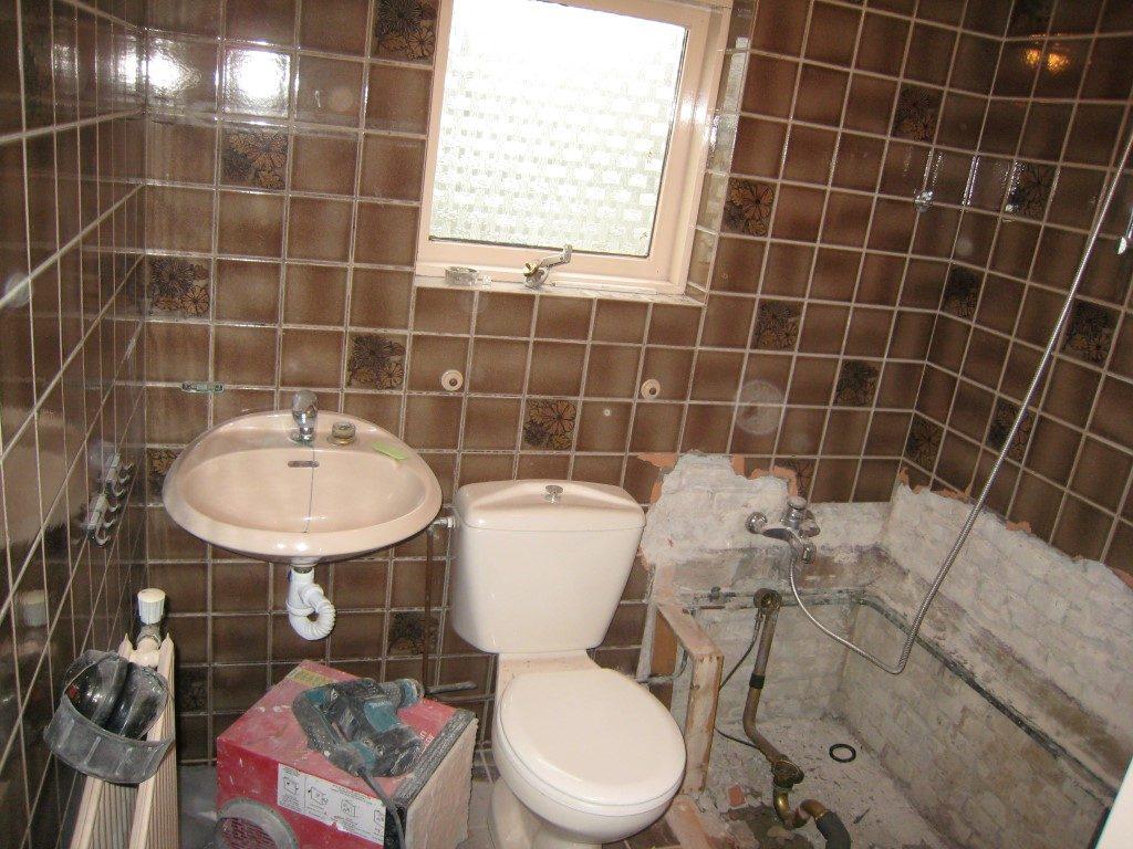 Kleine Badkamer renovatie - Klusserij Potters